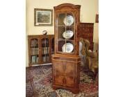 CORNER DISPLAY CABINET WITH CUPBOARD - SPECIAL PRICE