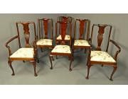 Queen Anne Dining Chairs - 6