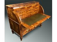 Antique Bureau - Cylinder Top - 18th Century