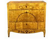 Antique Biedermeier German Commode - Chest of Drawers