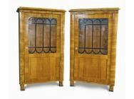 Pair of Biedermeier Bookcases 1830 - SOLD