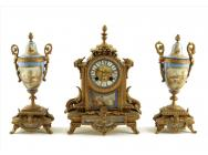 Antique Mantel /  Desktop Clocks